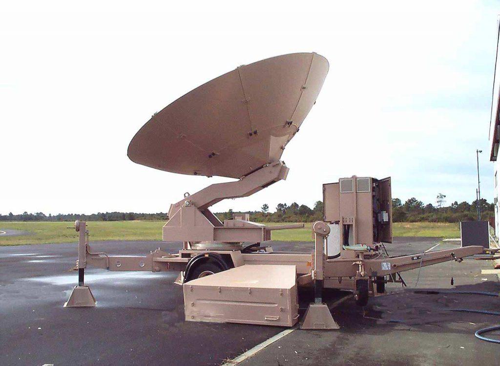 Remorque et Semi-remorque porte antenne